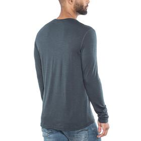 Lundhags Merino Light - T-shirt manches longues Homme - bleu